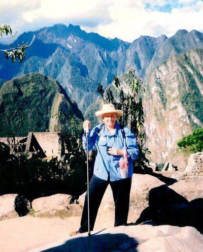 Tina C. at Machu Picchu, Peru