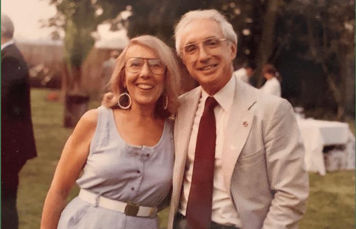 Joan and Arthur